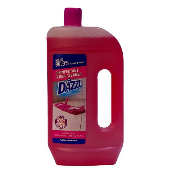 Dazzl Disinfectant Floor Cleaner Floral Fragrance 975 ml