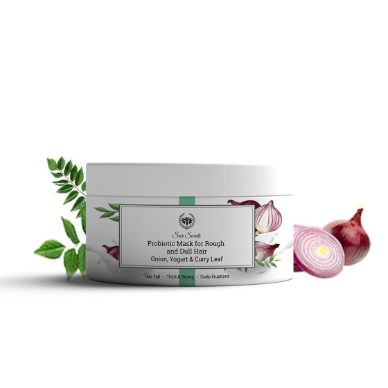 Seer Secrets Probiotic Hair Mask- For Rough & Dull Hairs, 200gm