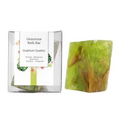 Seer Secrets Quantum Quattro Gemstone Bath Bar, 160g