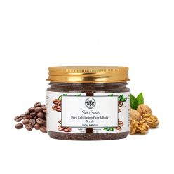 Seer Secrets Deep Exfoliating Face & Body Scrub for Dead Skin Cells, Dullness and Roughness, 300g