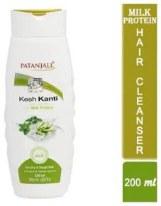 Patanjali Kesh Kanti Hair Cleanser Milk Protien 200 Ml