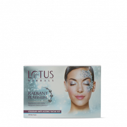 Lotus Herbals Radiant Platinum Cellular Anti-Ageing Salon Grade Single Facial Kit