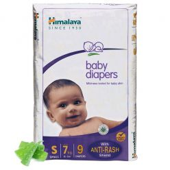 Himalaya Baby Diapers Small Size - Pack of 9