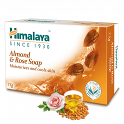 Himalaya Almond & Rose Soap 75g (pack of 4)