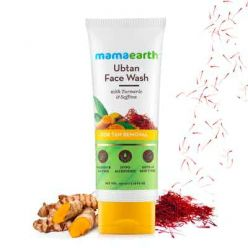 Mamaearth Ubtan Face Wash for Tan Removal - 100ml