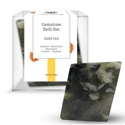 Seer Secrets Gold Ore Gemstone Bath Bar, 160 g