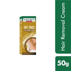 Nature's Essence Soft Touch Hair Removal Cream, Gold - 50g