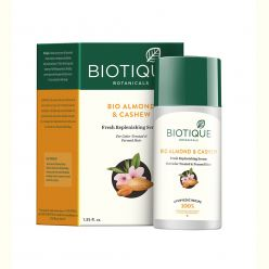 Biotique Bio Almond and Cashew Fresh Replenishing Serum for Colour-Treated and Permed Hair, 40ml