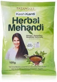 Patanjali Kesh Kanti Herbal Mehandi- 100 Gm