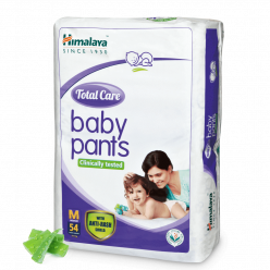 Himalaya Total Care Baby Pants, M size Pack of 54