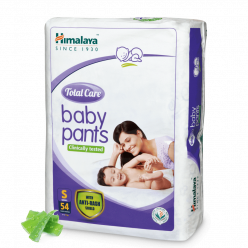 Himalaya Total Care Baby Pants, S size (Pack of 54)