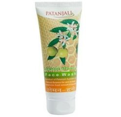 Patanjali Lemon Honey Facewash, 60g