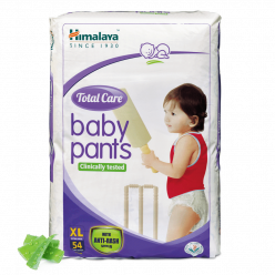 Himalaya Total Care Baby Pants, XL Pack of 54