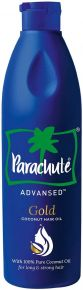 Parachute Advansed Gold Coconut Hair Oil - 280 ml