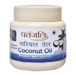 Patanjali Coconut Oil - 500 Ml (J)