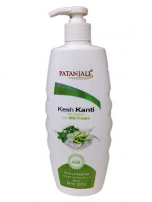 Patanjali Kesh Kanti Hair Cleanser Milk Protien 450 Ml