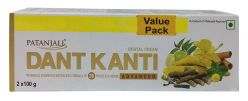Patanjali Dant Kanti Dental Cream (ADVANCED) 2x100-Gm