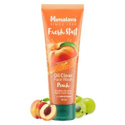 Himalaya Fresh Start Oil Clear Peach Face Wash, 50 ml