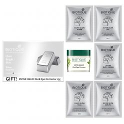 Biotique Bio Silver Facial Kit With Swiss Magic Dark Spot Corrector