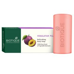 Biotique Bio Himalayan Plum Refreshing Body Soap, 150g